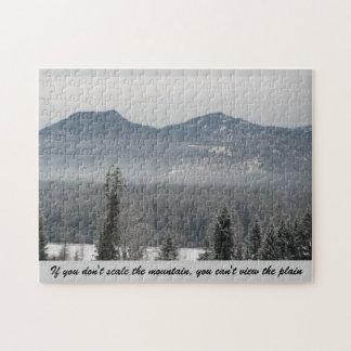 Si usted no sube la montaña… puzzles