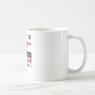 Si usted no tiene gusto a campo través reúna taza de café