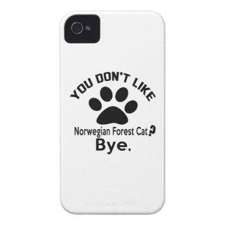 Si usted no tiene gusto de adiós noruego del gato iPhone 4 coberturas