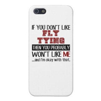 Si usted no tiene gusto de atar de la mosca fresco iPhone 5 fundas