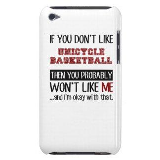 Si usted no tiene gusto de baloncesto del Unicycle iPod Case-Mate Cárcasa