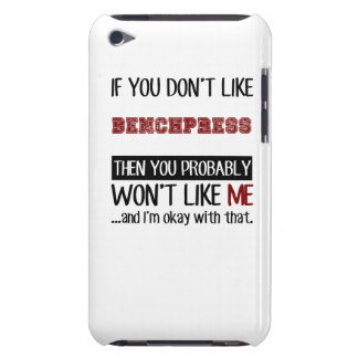 Si usted no tiene gusto de Benchpress fresco Case-Mate iPod Touch Protectores