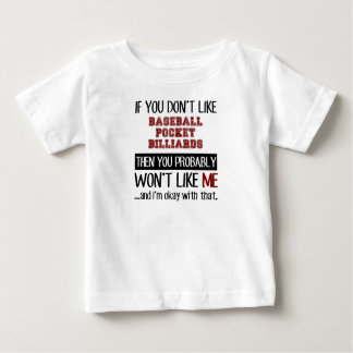 Si usted no tiene gusto de billares de bolsillo tee shirt
