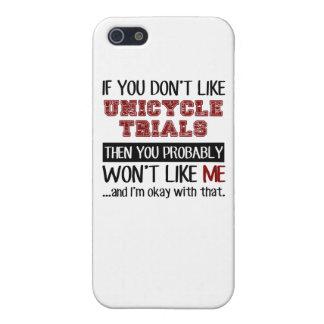 Si usted no tiene gusto de ensayos del Unicycle iPhone 5 Fundas