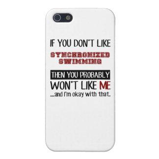 Si usted no tiene gusto de la natación iPhone 5 carcasa
