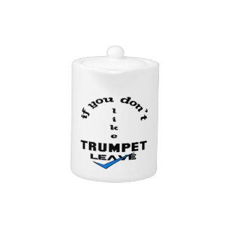 Si usted no tiene gusto de licencia de la trompeta