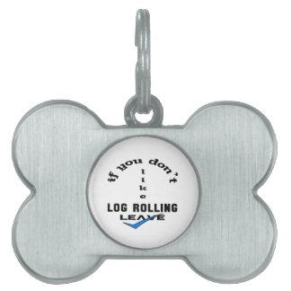 Si usted no tiene gusto de licencia del balanceo placas de mascota