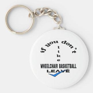 Si usted no tiene gusto de licencia del baloncesto llavero redondo tipo pin