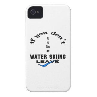Si usted no tiene gusto de licencia del esquí Case-Mate iPhone 4 protectores