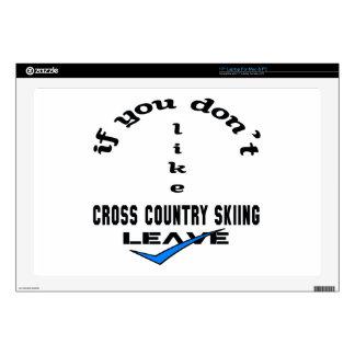 Si usted no tiene gusto de licencia del esquí del 43,2cm portátil calcomanía