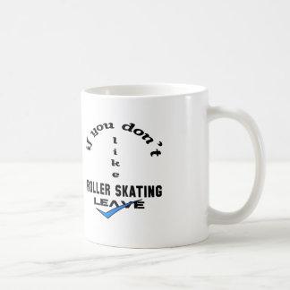 Si usted no tiene gusto de licencia del patinaje taza clásica