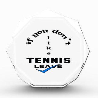 Si usted no tiene gusto de licencia del tenis