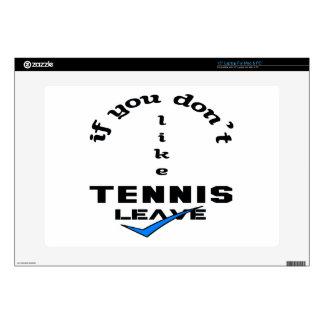 Si usted no tiene gusto de licencia del tenis portátil 38,1cm skins