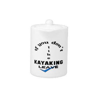 Si usted no tiene gusto de licencia Kayaking