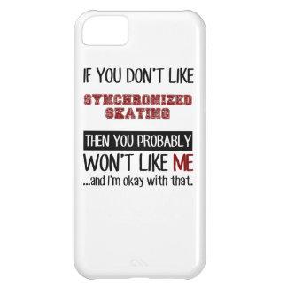 Si usted no tiene gusto de patinaje sincronizado funda para iPhone 5C