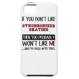 Si usted no tiene gusto de patinaje sincronizado iPhone 5 carcasa