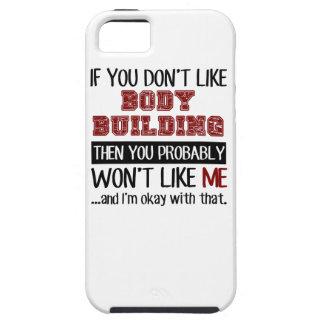 Si usted no tiene gusto del culturismo fresco iPhone 5 funda