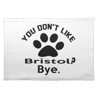 ¿Si usted no tiene gusto del gato de Bristol? Manteles Individuales