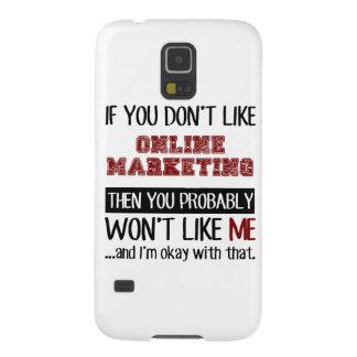 Si usted no tiene gusto del márketing en línea funda para galaxy s5