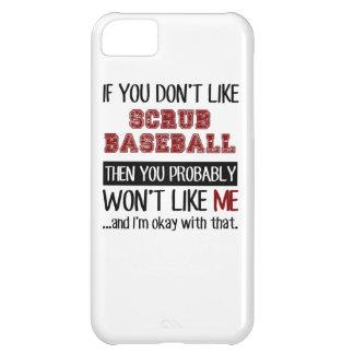 Si usted no tiene gusto friegue el béisbol fresco funda para iPhone 5C