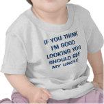 SI USTED PIENSA que soy APUESTO USTED DEBE VER MI… Camiseta