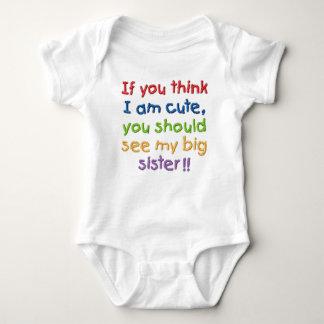 Si usted piensa que soy lindo usted debe ver a mi body para bebé