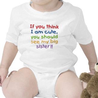 Si usted piensa que soy lindo usted debe ver a mi  camiseta