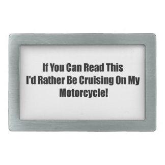 Si usted puede leer esta identificación bastante e hebilla de cinturon rectangular