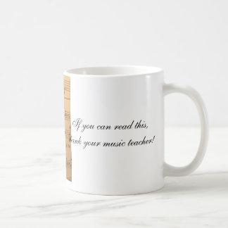 Si usted puede leer esto, agradezca a su profesor taza de café