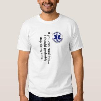 Si usted puede leer esto… camisas