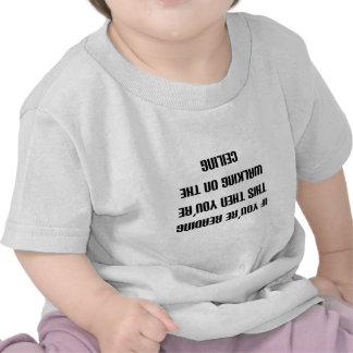 Si usted puede leer esto entonces usted está camin camiseta