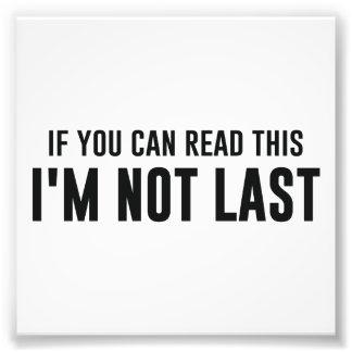 Si usted puede leer esto que no soy pasado foto