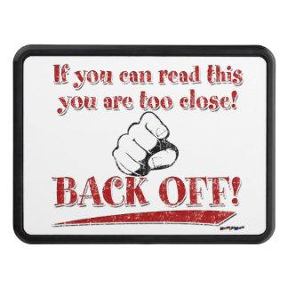 ¡Si usted puede leer esto… retroceda! rojo Tapa De Tráiler