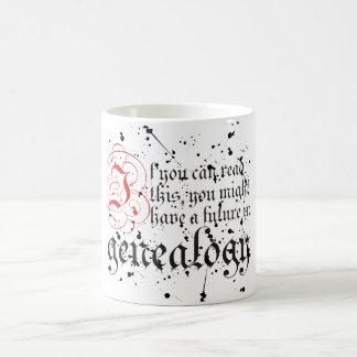 Si usted puede leer esto taza
