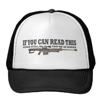 Si usted puede leer esto, todavía coloqúese gorra