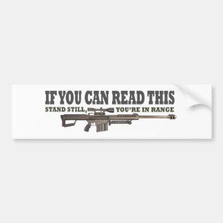 Si usted puede leer esto, todavía coloqúese pegatina para auto