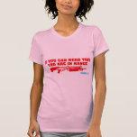 Si usted puede leer esto usted está en escopeta de camisetas
