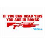 Si usted puede leer esto usted está en escopeta de postal