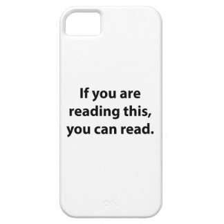 Si usted puede leer esto, usted puede leer iPhone 5 carcasas