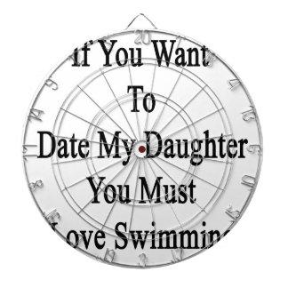 Si usted quiere hasta la fecha a mi hija usted tabla dardos