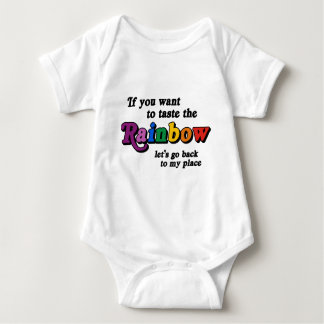 Si usted quiere probar el arco iris camisas