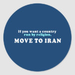 Si usted quisiera que un país corriera por etiqueta redonda