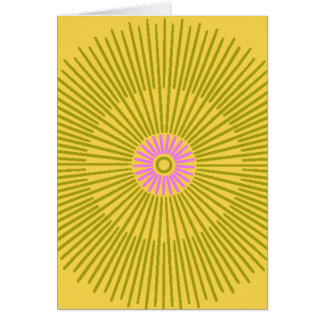 si usted recuerda los años 60 tarjeta de felicitación