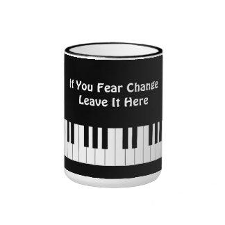 Si usted teme licencia del cambio aquí que recoge taza de dos colores