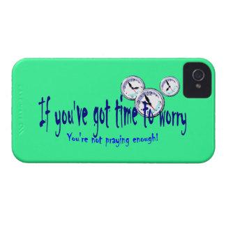 Si usted tiene tiempo para preocuparse… iPhone 4 cárcasa