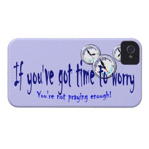 Si usted tiene tiempo para preocuparse… iPhone 4 carcasas