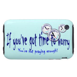Si usted tiene tiempo para preocuparse… tough iPhone 3 coberturas