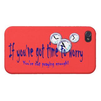 Si usted tiene tiempo para preocuparse… iPhone 4/4S carcasa