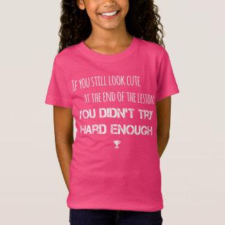 Si usted todavía mira… la camiseta linda de la