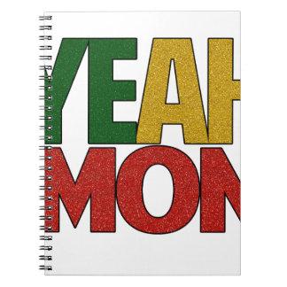Sí vacaciones jamaicanas de lunes notebook